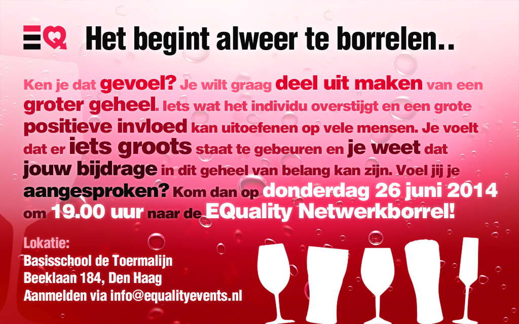 Flyer EQ Netwerkborrel